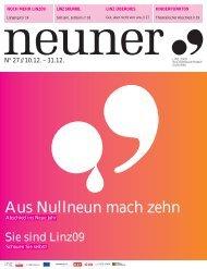 Neuner, Ausgabe 27: 10. Dezember - Linz09