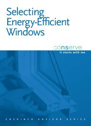 Selecting Energy Efficient Windows PDF
