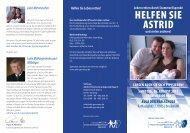 Helfen Sie AStrid - Gymnasium Bad Aibling