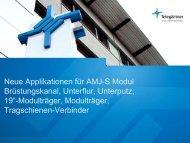 Applikationen mit AMJ-S Modulen (PDF, 0,5 MB) - Telegärtner