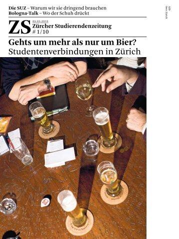 Gehts um mehr als nur um Bier? - Zs-online.ch