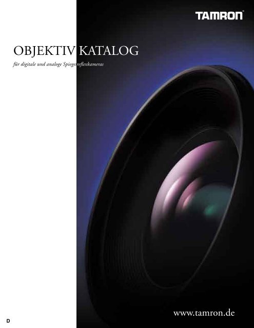 OBJEKTIV KATALOG - Slach