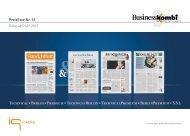 BusinessKombi - Basispräsentation - IQ media marketing