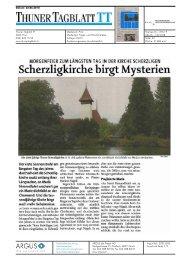 Scherzligkirche birgt Mysterien - Hochschule für Architektur, Holz ...