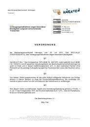 Amt der Kärntner Landesregierung - Gemeinde Dellach