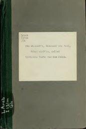 Mystische Texte aus dem Islam: drei Gedichte des Arabi, 1240;