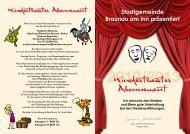 Kindertheater Abonnement - in Braunau am Inn