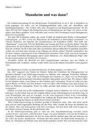 Hubert Ginder Mannheim1 - Forum Deutscher Katholiken