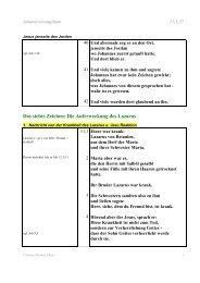Joh 11.1-54 - Meditationen von GM Ehlert