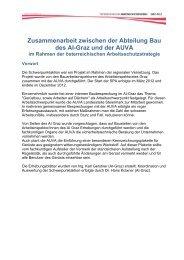 Gerüstschwerpunkt Arbeitsinspektorat Graz ... - Arbeitsinspektion