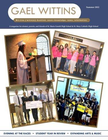 GAEL WITTINS - St. Maria Goretti High School