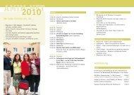 Anmeldung AMIN-Net 2010 - Deutsche Evangelische Allianz