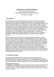 ein nachhaltigkeits-geoskop - Potsdam Institute for Climate Impact ...