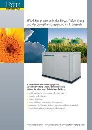 Biogas Prospekt.pdf - Haug Kompressoren AG