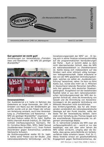 Review (April/Mai 08) - Alternative Dresden News