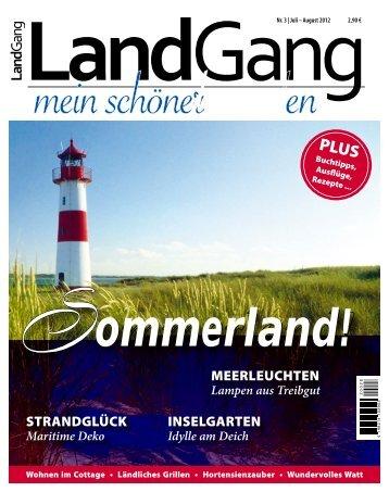 Nr. 3 | Juli – August 2012 2,90 € - Rathjens