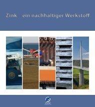 Zink – ein nachhaltiger Werkstoff - International Zinc Association