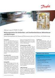 Akva Lux II TDP-F GW - Danfoss GmbH