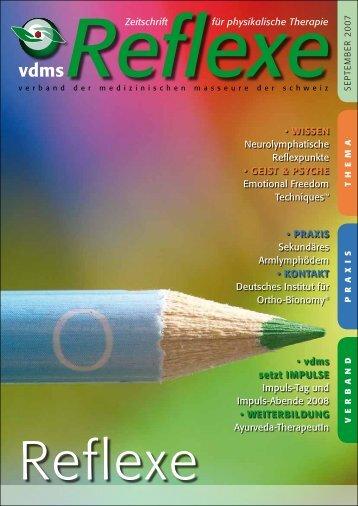 Reflexe Ausgabe September 2007 - vdms
