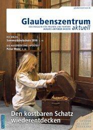 botschaften von der sommerbibelschule 2010 - Glaubenszentrum