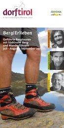 Programm 2013 - Intranet Dorf Tirol