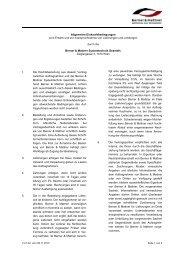 Allgemeine Einkaufsbedingungen Berner & Mattner Systemtechnik ...