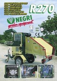 R270 DK 26,5HP omologato traino patente B velocità max 80 Km/h ...