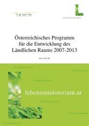 Ländliche Entwicklung 2007-2013 Maßnahmen.pdf - Region Wels ...