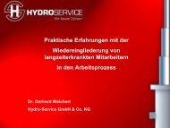 Vortrag von Dr. Gerhard Weichert