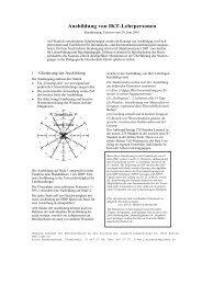 Ausbildung von IKT-Lehrpersonen - Bbaktuell