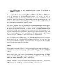1. Zielvereinbarungen mit unternehmerischen Universitäten: ein ...