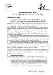 Bundesfreiwilligendienst (BFD) - Landesjugendwerk der AWO ...