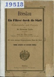 Breslau : ein Führer durch die Stadt für Einheimische und Fremde