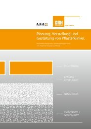 Planung, Herstellung und Gestaltung von Pflasterklinker.