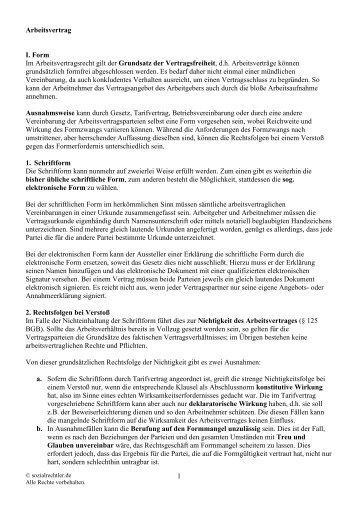Materialien Revision Arbeitsvertrag In Kraft 01011972