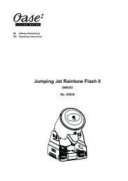 Jumping Jet Rainbow Flash II - Oase