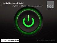 Unity Document Suite