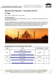 7 Tage - Indien Special Tours
