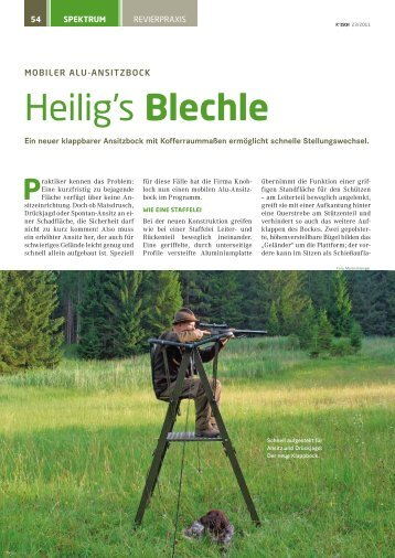 Heilig's Blechle - Knobloch-Jagd.de