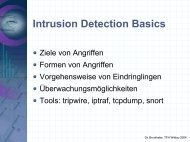 Folien zu Intrusion Detection Systeme