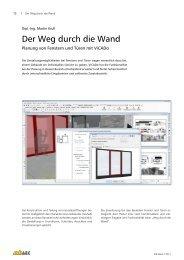 Der Weg durch die Wand - mb AEC Software GmbH