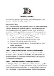 Marketingexperten - Buchliebling.com