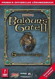prima's offizielles lösungsbuch - Offizielle Baldur's Gate 2 Website