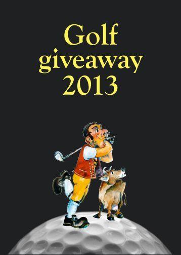 Golf giveaway 2013.pdf - Alba Gruppe
