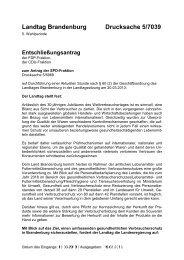 Landtag Brandenburg Drucksache 5/7039