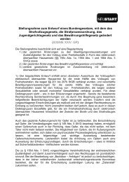 Stellungnahme elektronisch überwachter Hausarrest und ... - Neustart
