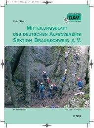 4/06 - Deutscher Alpenverein Sektion Braunschweig e.V.