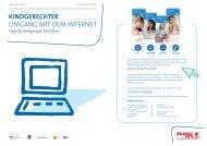 Flyer Internet - Schau Hin