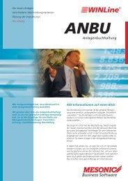 ANBU Anlagenbuchhaltung - Brehmer Software Gmbh