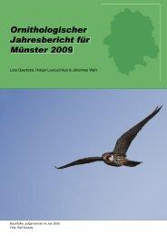 Ornithologischer Jahresbericht für Münster 2009 - MSOrni